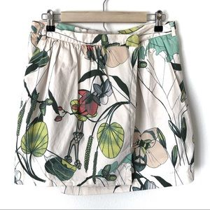 H&M Conscious Collection Floral Wrap Skirt